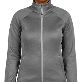 The North Face Women's Canyon Flats Fleece Jacket - Color: Medium Grey Heather