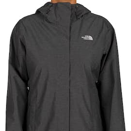 The North Face Women's Waterproof Windbreaker Jacket - Color: Dark Grey Heather