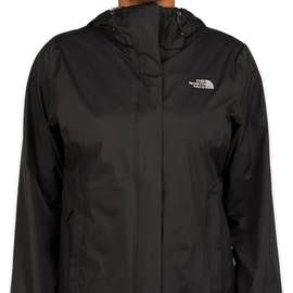 The North Face Women's Waterproof Windbreaker Jacket - Color: Black