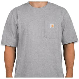 Carhartt Workwear Pocket T-shirt - Color: Heather Grey