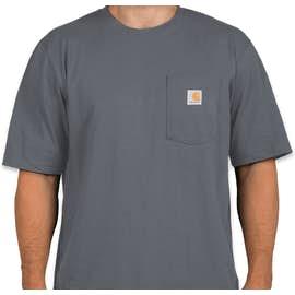 Carhartt Workwear Pocket T-shirt - Color: Bluestone