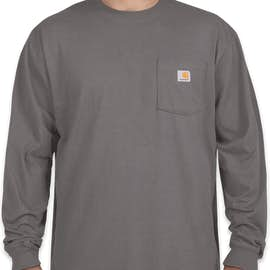 Carhartt Workwear Long Sleeve Pocket T-Shirt - Color: Charcoal