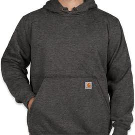 Carhartt Rain Defender Paxton Heavyweight Hooded Sweatshirt - Color: Carbon Heather
