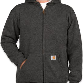 Carhartt Water Resistant Thermal Lined Zip Hoodie - Color: Carbon Heather