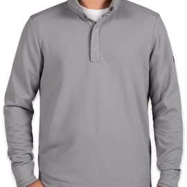 Under Armour Quarter Snap Up Sweater Fleece - Color: Steel