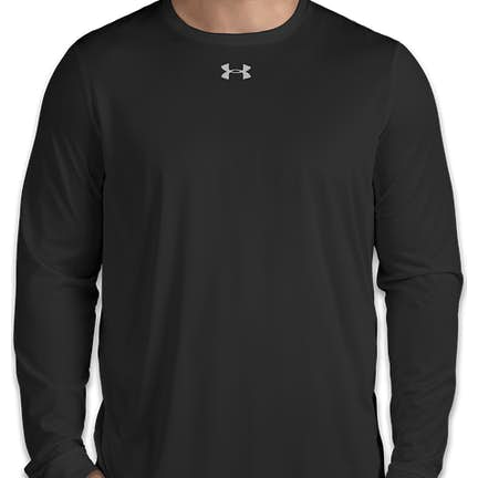 34971a69128d ... Under Armour Long Sleeve Locker Performance Shirt 2.0 - Color  Black ...