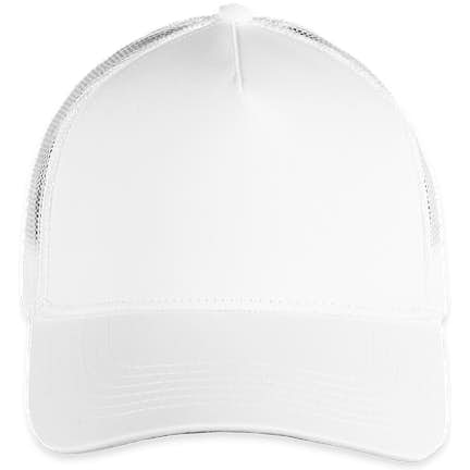 ... Sport-Tek Posicharge Competitor Mesh Back Cap - Color  White  White ... a5a33cd6b026