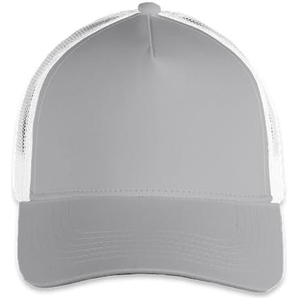 71dd6ea9914c8 ... Sport-Tek Posicharge Competitor Mesh Back Cap - Color  Silver  White ...