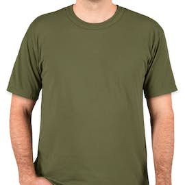 Soffe Military 50/50 USA T-shirt - Color: OD Green