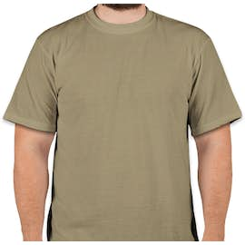 Soffe Military Performance Blend T-shirt - Color: Tan