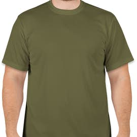 Soffe Military Performance Mesh T-shirt - Color: OD Green