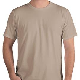 Royal Apparel Organic USA T-shirt - Color: Mushroom