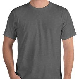 Royal Apparel Organic Eco 50/50 USA T-shirt - Color: Heather Ash