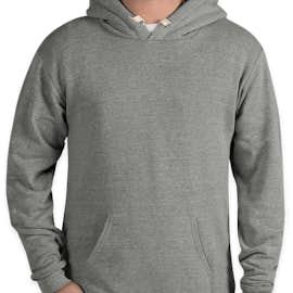 Royal Apparel Eco Tri-Blend USA Pullover Hoodie - Color: Eco Tri Grey