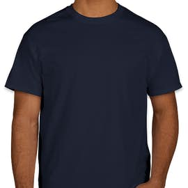 Gildan 100% Cotton T-shirt - Color: Navy