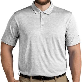 Puma Golf Heather Performance Polo - Color: Bright White Heather