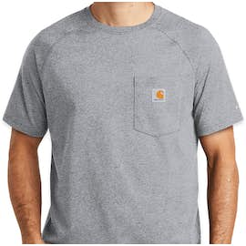 Carhartt Force Cotton Pocket T-shirt - Color: Heather Grey