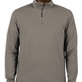 Cutter & Buck Advantage Charged Cotton Quarter Zip Pullover - Color: Elemental Grey