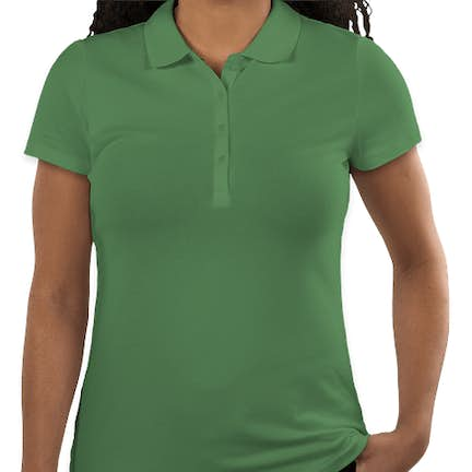 90451c48a ... Tommy Hilfiger Women's Ivy Pique Polo - Color: Deep Grass Green ...