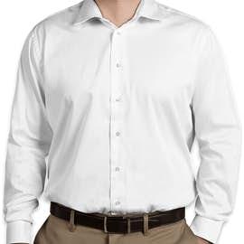 Calvin Klein Cotton Stretch Shirt - Color: White