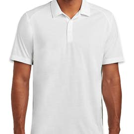 Sport-Tek Tri-Blend Performance Polo - Color: White
