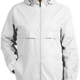 Team 365 Zone Lightweight Full Zip Jacket - Color: White
