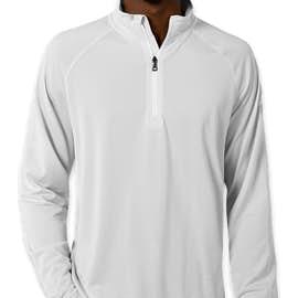 Under Armour Tech Stripe Quarter Zip Pullover - Color: White