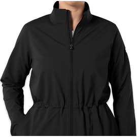Under Armour Women's Cinched Windbreaker Jacket - Color: Black