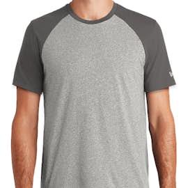 New Era Varsity Heritage Blend T-shirt - Color: Graphite / Light Graphite Twist