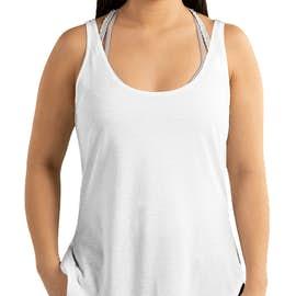 Next Level Women's Festival Side Slit Tank - Color: White