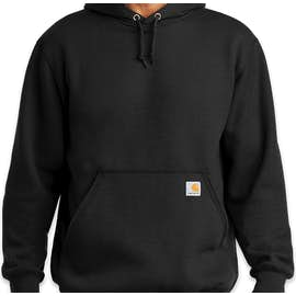 Carhartt Midweight Pullover Hoodie - Color: Black