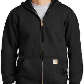 Carhartt Midweight Zip Hoodie - Color: Black