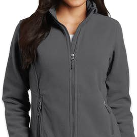 Port Authority Women's Value Fleece Jacket - Color: Iron Grey