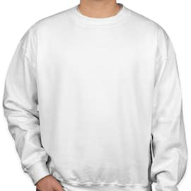 Gildan Dryblend® 50/50 Crewneck Sweatshirt - Color: White