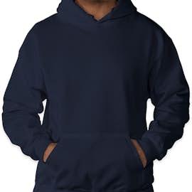 Gildan Dryblend® 50/50 Pullover Hoodie - Color: Navy