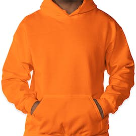Gildan Dryblend® 50/50 Pullover Hoodie - Color: Safety Orange