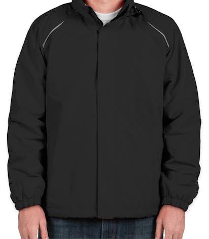 Core 365 Fleece Lined All-Season Jacket - Black