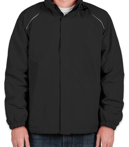 Core 365 Fleece Lined All-Season Jacket - Black