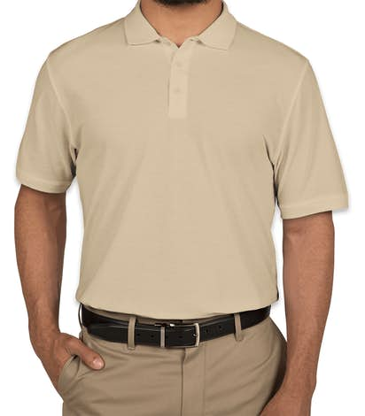 Port Authority Lightweight Classic Pique Polo - Wheat