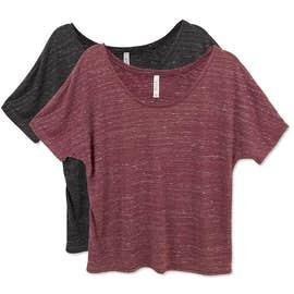Bella + Canvas Women's Flowy Melange T-shirt