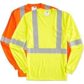 CornerStone Class 2 Long Sleeve Performance Safety Pocket Shirt