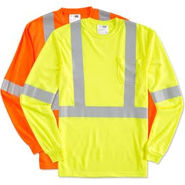 CornerStone Class 2 Long Sleeve Performance Safety Pocket Shirt