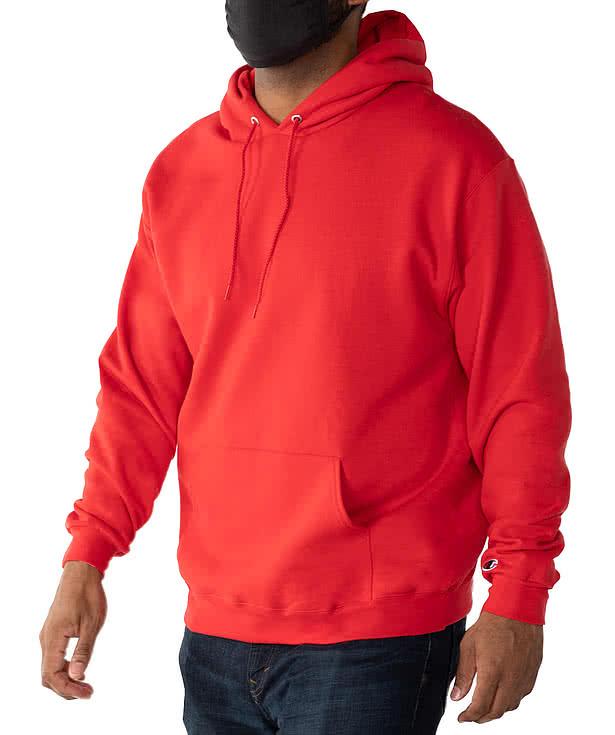 Women Sweatshirt Hoodie Champion Hooded Sweatshirt red