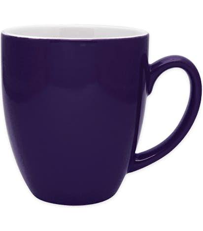 16 oz. Two-Tone Bistro Mug - Midnight Blue
