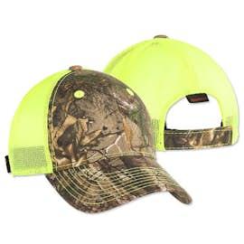 Outdoor Cap Neon Camo Trucker Hat