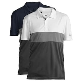 Adidas 100% Recycled Block Polo