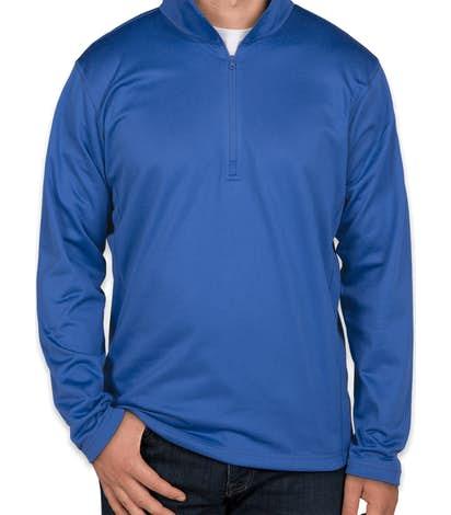 The North Face Tech Quarter Zip Fleece Pullover - Monster Blue