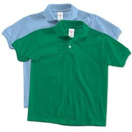 Hanes EcoSmart® Youth 50/50 Jersey Polo