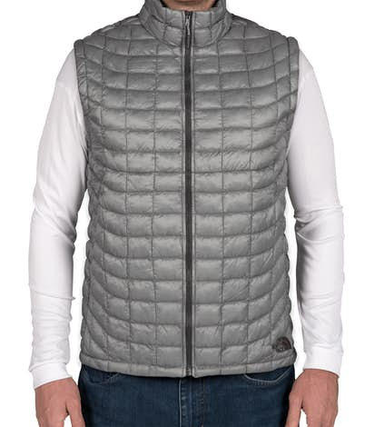 The North Face Thermoball Trekker Vest - Mid Grey