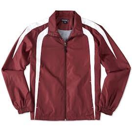 Sport-Tek Full Zip Colorblock Warm-Up Jacket